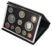 2008 - 2011 Black Leather Deluxe Proof Sets