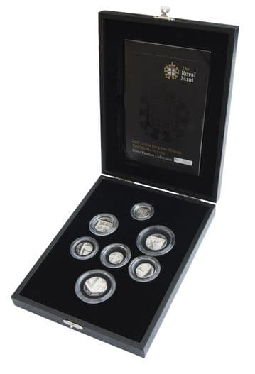 2008 Silver Proof Piedfort Royal Shield Collection