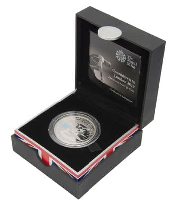 2009 Silver Proof £5 Coin Count Down to the Olympics