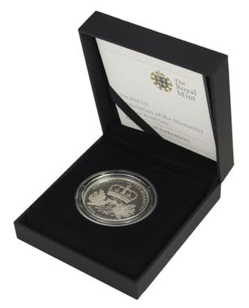 2010 Silver Proof £5 Restoration Of Monarchy