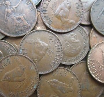 Bulk Farthings by Monarch Choose the Amount