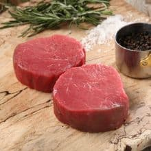 2 x Fillet steaks (Choice of sizes)