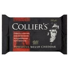 Colliers Extra mature cheddar 350g