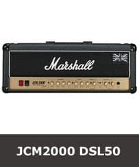 Marshall JCM2000 DSL50 Valve -  Tube Set