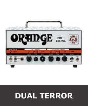Orange Dual Terror Valve - Tube Set