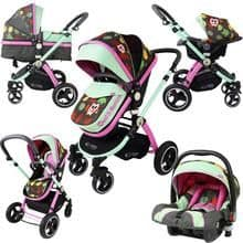 2 in 1  Pram System - Limited Edition + Carseat