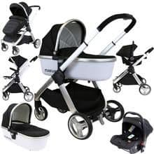 3 in 1 Taylor Travel System - (With Car Seat & Carrycot)