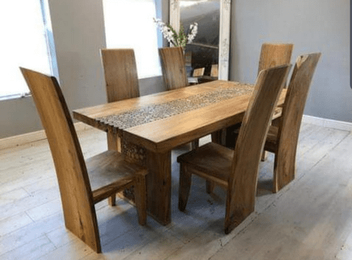 Arman Wooden Dining Table