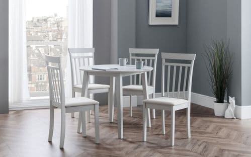 Beach Peble Dining Table and 4 Chairs
