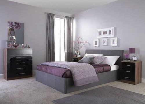 Boycott Fabric Ottoman Bed