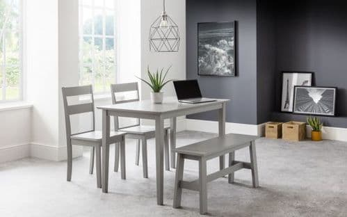 Bryant Dining Set (Bench & 2 Chairs)