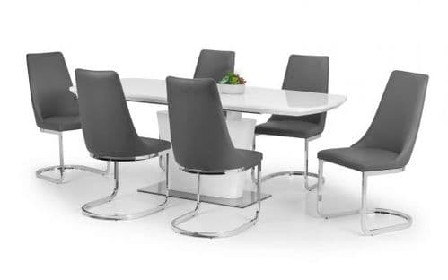 Cosmos Dining Set (6 Chairs)