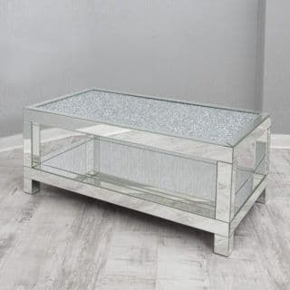 Crushed Glass Coffee Table