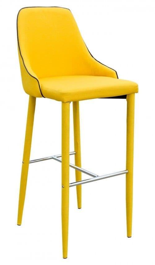 Duncan Yellow Bar Stool