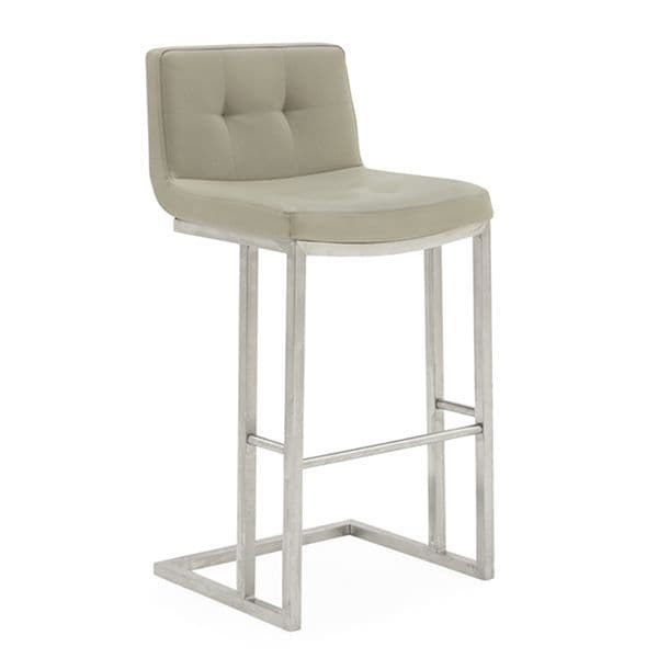 Elstra Bar Chair - Taupe
