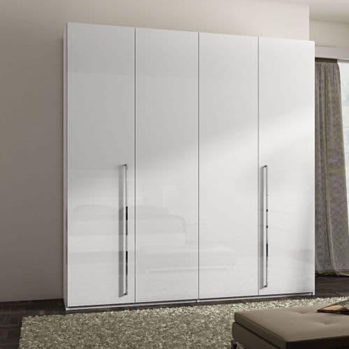 German Polar 4 Door Wardrobe