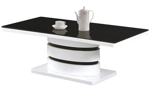 High gloss black Coffee Table