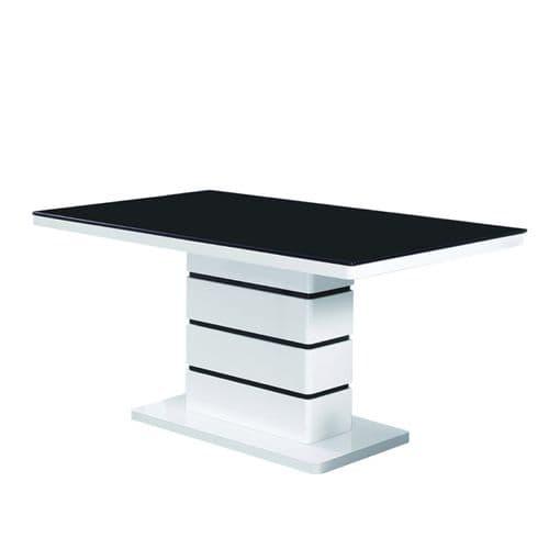 High gloss black Dining Table