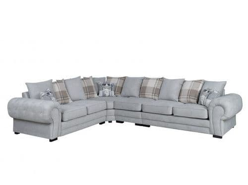 Milan Extended Corner Sofa (3CR2) Scatter Back Cushions