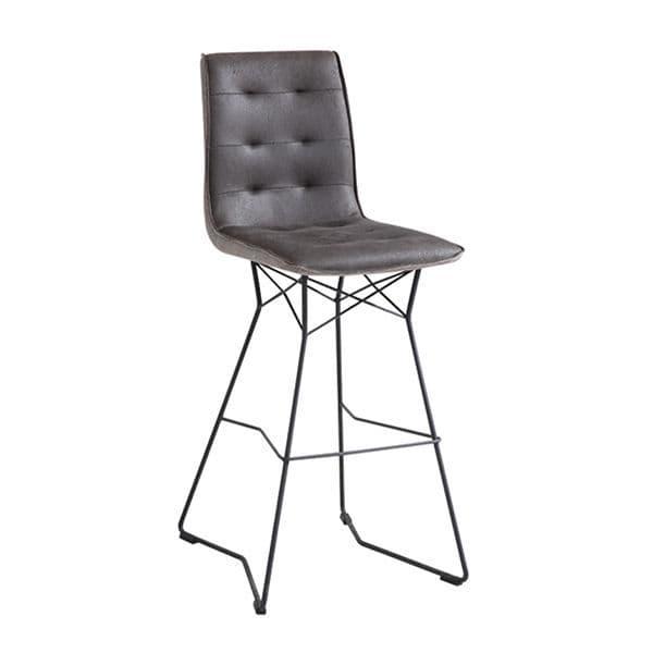 Mirko Bar Chair - Grey