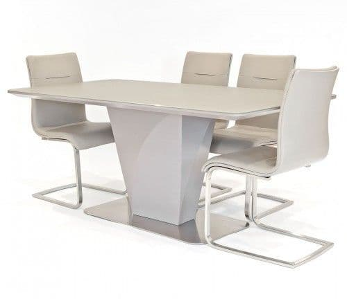 Natalie Dining Set With Gala Dining Chairs