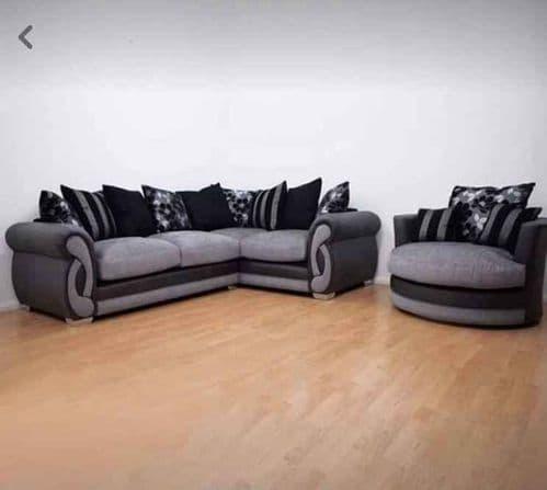 Nathan Corner Sofa and Cuddle Chair