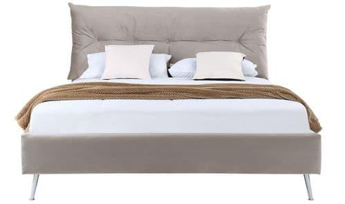 """Ovary Bed 4""""6 Bed Frame- Subtle Mink"""