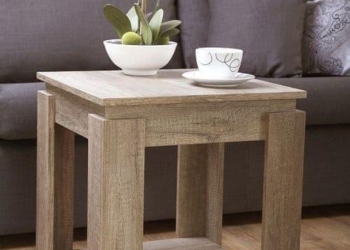 Pirate Oak Lamp Table