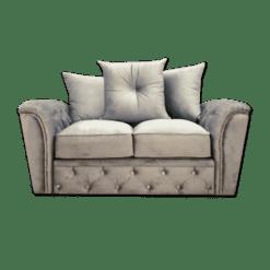 Trafalgar Range- 3 & 2 Silver Plush velvet