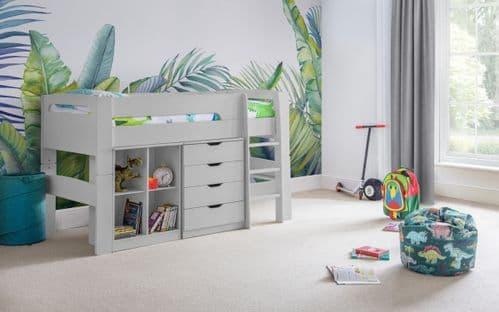 Venus Midsleeper, Chest & Bookcase Set