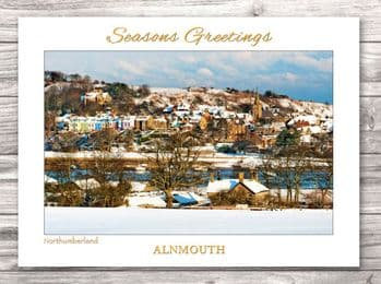 Alnmouth Christmas Card