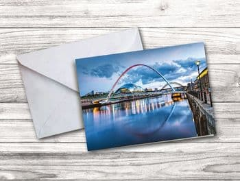 Newcastle Quayside Notecard