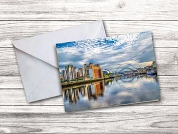 The River Tyne View Notecard