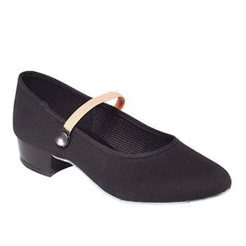 Canvas Character shoes Low heel