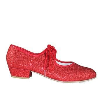 Red Hologram Tap shoe