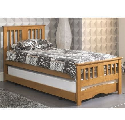 Artisan Zeus Guest Bed Oak