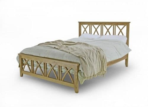 Ashfield Solid Oak Double 4ft6 Bedframe