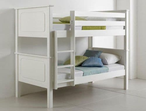 Ashley White Wooden Bunk Bed