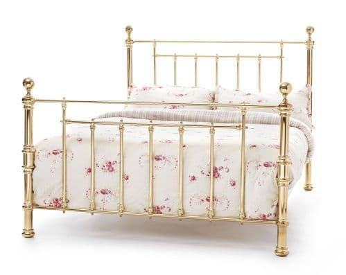 Benjamin Brass Small Double 4ft Bedframe