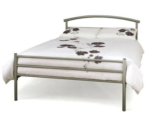 Brennington Silver Small Double 4ft Bedframe