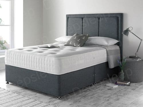 Cairo 2000 Pocket Winter/Summer Small Double 4'0 Divan Bed