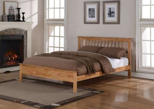 Flintshire Pentre Oak Kingsize 5'0 Bedframe