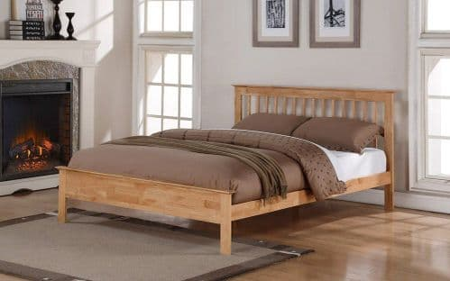 Flintshire Pentre Oak Small Double 4'0 Bedframe