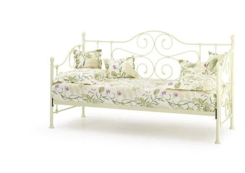 Florence Ivory Gloss Single Day Bed