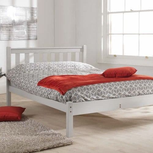 Friendship Mill Shaker Grey Kingsize 5'0 Wooden Bed
