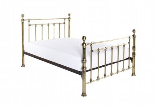 Gloucester Brass Small Kingsize 5ft Bedframe