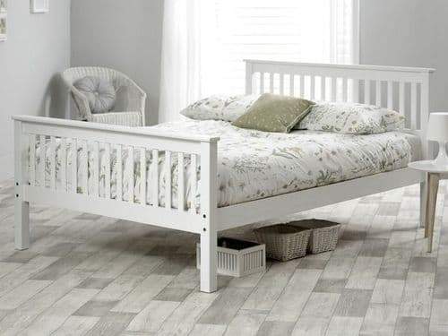 Gracie White Small Double 4'0 Bedframe