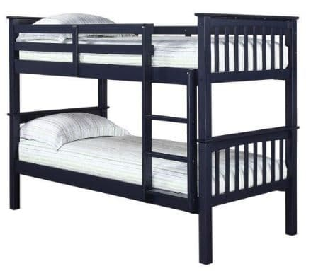 Leo Bunk Bed Navy Blue