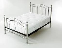 Limelight Callisto Chrome Double 4ft6 Bedframe