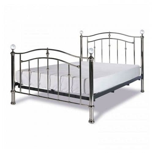 Limelight Callisto Chrome Kingsize 5'0 Bedframe